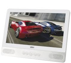zeki 9 tablet portable dvd player combo page 1 qvc