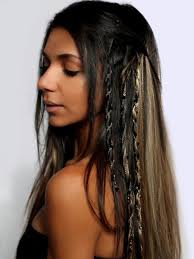 hair chains smoke hair extension chain drizzle jewellery