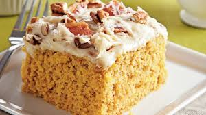 sweet potato sheet cake with bacon cream cheese frosting recipe