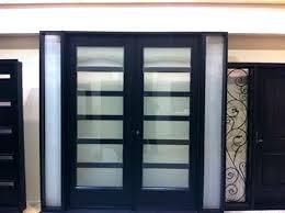 Frosted Glass Exterior Door Modern Glass Front Door Sceper Me
