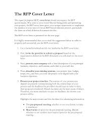 Cover Letter Ideas Rfp Response Cover Letter Examples Image Collections Cover