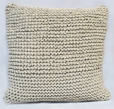 Knit Cushion Cover Pattern Buy Cushions Online Best Price In India At Shopinterio Com