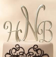 wedding cake toppers letters gold cake letters and symbols monogram wedding cake toppers