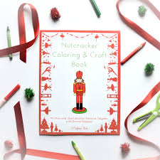 nutcracker coloring u0026 craft book trailer youtube