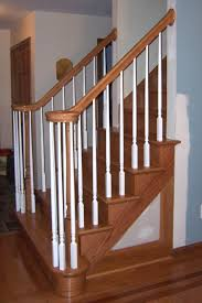 Oak Stair Banister Bennett Stair Company Inc Remodels U0026 Nustair Installations