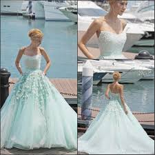 mint green fairy prom dresses 2017 strapless with top beads a line