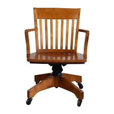 Swivel Desk Chair Without Wheels by Bedroom Antique Vintage Wooden Desk Chair Walnut Wood High Point