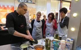 cours de cuisine val d oise brétigny succès pour les cours de cuisine avec un chef au centre