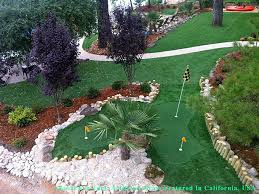 Backyard Putting Green Installation by Grass Installation Columbus Ohio Landscaping Business Backyard Ideas