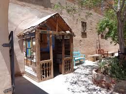 tiny church of the mother road winslow arizona usa image