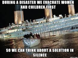 Titanic Funny Memes - 10 fresh memes 8 titanic memes release women and children first