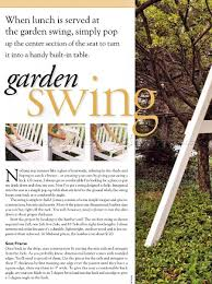 garden swing plans u2022 woodarchivist