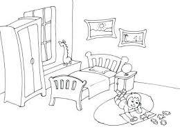 coloriage de chambre de fille coloriage de chambre de fille coloriage de chambre a coucher
