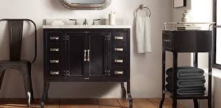 Black Distressed Bathroom Vanity Bath Collections Rh