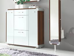 White Shoe Cabinet With Doors by Modern Bellano Cabinet Composition In Choice Of Finish Sideboard
