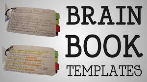 working nurse brain book templates youtube