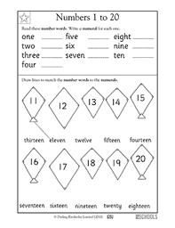 writing numbers worksheet 1 20 free worksheets library download
