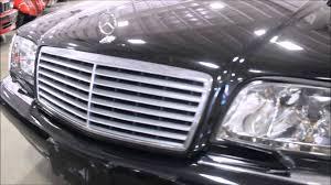 1999 black mercedes 1999 mercedes s600 black