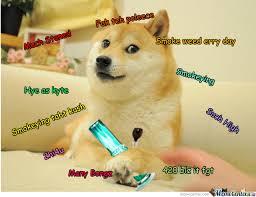 Dogge Meme - high doge by marco leyva 79 meme center