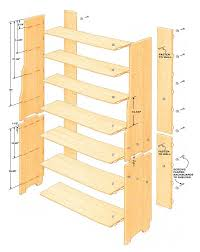 Anchor Furniture To Wall How To Build A Bookcase In A Small Workshop