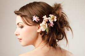 wedding flowers in hair wedding flowers for your hair thriftyfun