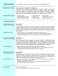 Sample Business Manager Resume by Business Resume Sample Free Resumes Tips