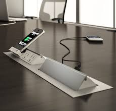 Big Meeting Table Conference Table Power Data Video Modules Enhance Your Next Meeting