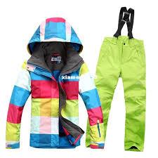 95 best winter colorful waterproof snowsuit ski suits jacket pants