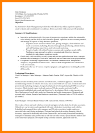 resume objective sles management 7 sales resume objective mla cover page