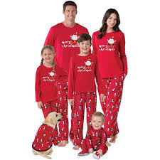 2017 family matching pajamas pjs sets