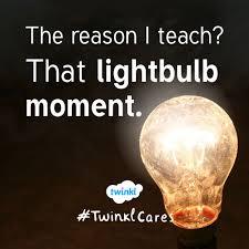 twinkl writing paper motivation for teachers lightbulb moment