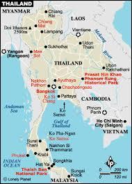 map of hat yai thailand map thai maps