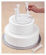cake pillars building the cake combination pillar stacked construction