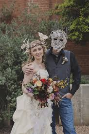 Halloween Wedding Photos by A Woodland Halloween Wedding Unlike We U0027ve Ever Seen