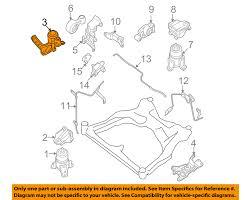 nissan maxima engine mount nissan oem 09 14 maxima engine motor mount torque strut 112109n00a