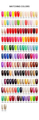 perfect match colors famous brand soak off rnk uv led perfect match gel polish buy