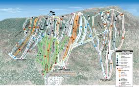 Squaw Trail Map Granite Peak Ski Area Trail Map Onthesnow