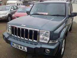used jeep commander cars for sale motors co uk