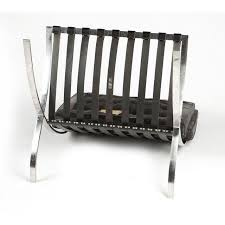 knoll barcelona chair by ludwig mies van der rohe chairish