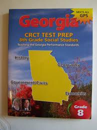 georgia crct test prep 8th grade georgia studies glen blankenship