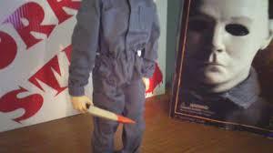 halloween michael myers sideshow collectibles 12 inch figure youtube