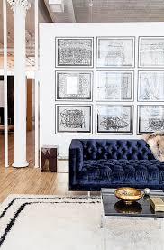 sofa blue tufted sofa imposing u201a delightful u201a acceptable navy blue