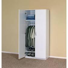 Storage Home Amazon Com Closetmaid 12298 30 In 2 Door Wardrobe Home Furniture