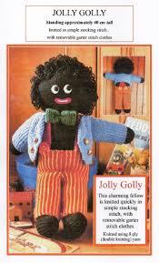 felt golliwog pattern vintage knitting pattern pdf jolly golly golliwog soft toy