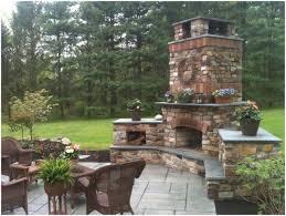 backyards winsome backyard fireplace kits outdoor wood burning