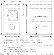 Bookshelf Speakers With Bass Fostex Fe127e Diy Bass Reflex Bookshelf Speakers