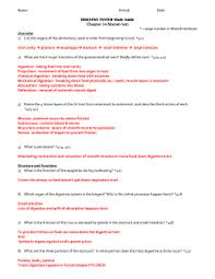 bill nye digestion worksheet answer key worksheets aquatechnics biz