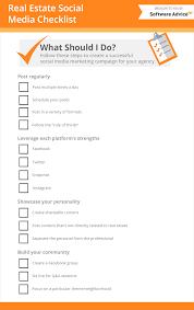 social media marketing for real estate checklist