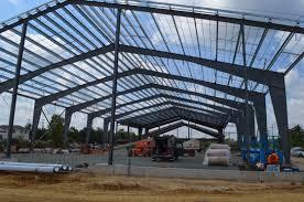 single span pre engineering building prefabricated light steel