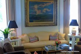 living room at p allen smith s home